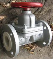 Клапан запорный прямоточный 15с65нж  (Россия)