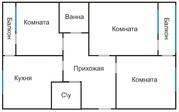 3-хкомн.кв. НУРСАЯ 70кв.м. 1этаж 72000у.е.