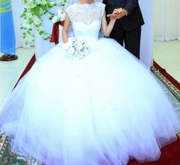 Нежное свадебное платье для худеньких невест