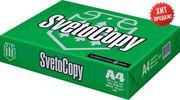 Продаем бумагу формата а4 SvetoCopi по оптовой цене 470 тенге