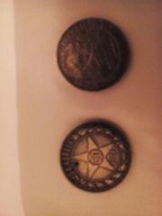 монеты серебрянные с золотника 10.5долей