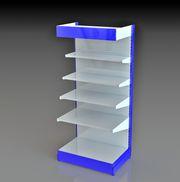 Оборудование для торговых стеллажей: полка,  стенка,  стойка,  усилитель полки
