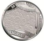 коллекционнная монета 10 евро 2013года