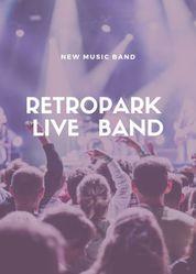 Live band Retropark ,  выступления на ваших мероприятиях