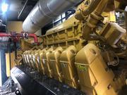 Газопоршневая электростанция Caterpillar 3520,  2014 г.